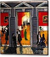 Soiree Parisienne Acrylic Print