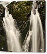 Sol Duc River Cascade Acrylic Print