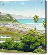 Solana Beach California Acrylic Print