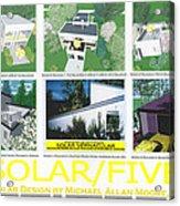 Solar Five Acrylic Print
