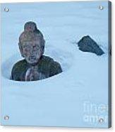 Solar Powered Dharmic Snow Remover  Acrylic Print