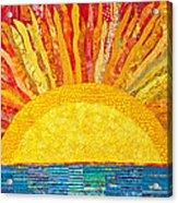 Solar Rhythms Acrylic Print by Susan Rienzo