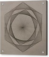 Solar Spiraling Acrylic Print