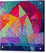 Solar Tapestry Acrylic Print by Diane Fine