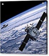 Solar Terrestrial Relations Observatory Satellites Acrylic Print