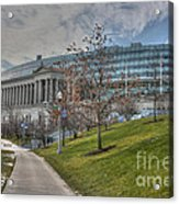 Soldier Field Renovated Acrylic Print