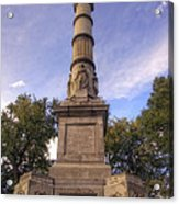 Soldiers And Sailors Monument - Boston Acrylic Print by Joann Vitali