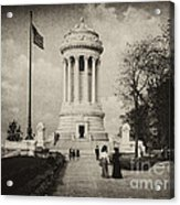 Soldiers Memorial - Ny - Toned Acrylic Print