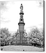 Soldier's Monument - Gettysburg - Irbw Acrylic Print
