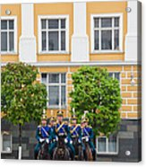 Soldiers Of The Presidential Regimental Acrylic Print