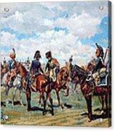 Soldiers On Horseback Acrylic Print