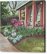 Soldini House Acrylic Print by Ellen Howell