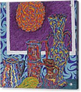 Soleil De Puteaux  Acrylic Print