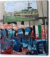 Solidarity With Palestine Acrylic Print