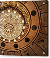 Solis Theater Ceiling Acrylic Print