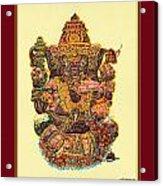Solitaire Vinayak Acrylic Print