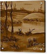 Solitude Of Winter Acrylic Print