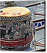 Solo Drum Hdr Acrylic Print