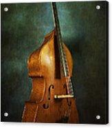 Solo Upright Bass Acrylic Print