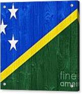 Solomon Islands Flag Acrylic Print