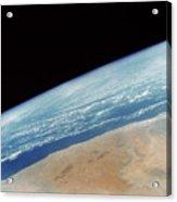 Somalia Seen From Space Shuttle Acrylic Print