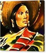 Sombrero Acrylic Print