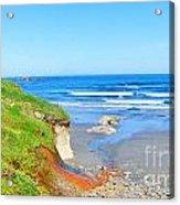 Some Beach Colors Acrylic Print