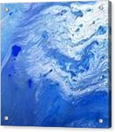 Some Kind Of Blue Acrylic Print