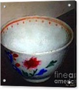 Somebody's Old Bowl Acrylic Print