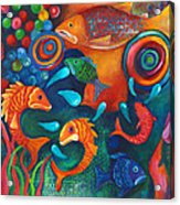 Something's Fishy Acrylic Print