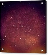 Sometimes We Imagine Supernovas. They Might Happen. Acrylic Print