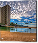 Somewhere In Honolulu Acrylic Print