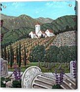 Somewhere In Tuscany Acrylic Print