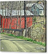 Somewhere In Vermont Acrylic Print