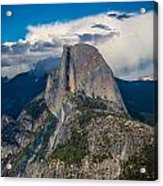 Somewhere Over Half Dome Acrylic Print
