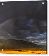 Somewhere Over The Rainbow Acrylic Print by Cat Connor