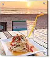 Somtum Thai Salad Acrylic Print
