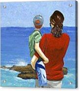 Son Of A Sailor Acrylic Print by Karyn Robinson