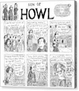 Son Of Howl Acrylic Print