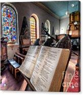 Song Of Solomon Acrylic Print