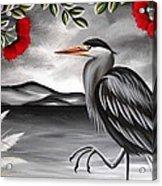 Song Of The Heron Acrylic Print