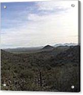 Sonoran Foothills Acrylic Print