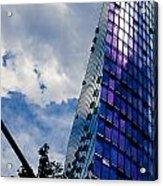Sony Center In Downtown Berlin Acrylic Print