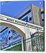 Sony Pictures Entertainment Production Distribution Acrylic Print