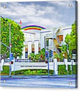 Sony Studios Acrylic Print