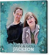 Soon To Be Mr And Mrs Jackson Acrylic Print