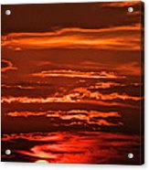 Soothing Saturday Sunset Acrylic Print