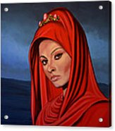 Sophia Loren 2  Acrylic Print