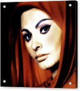 Sophia Loren Acrylic Print