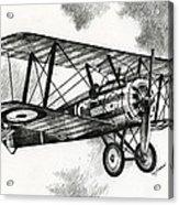 Sopwith F.1 Camel 1917 Acrylic Print